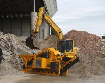 Technische Neuheiten für die Recyclingbranche