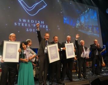 Der Nobelpreis der Stahlindustrie – Swedish Steel Prize 2015