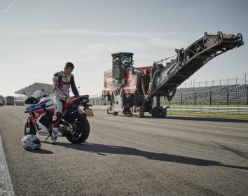 Wirtgen – Neuer Grip für Motorsport-Rennstrecke