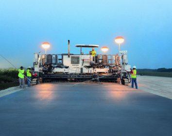 Wirtgen – Hohe Tragkraft für das Container-Terminal Valencia in Spanien