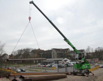 Sennebogen – Mobiltelekran überzeugt mit bis zu 16 Tonnen Traglast