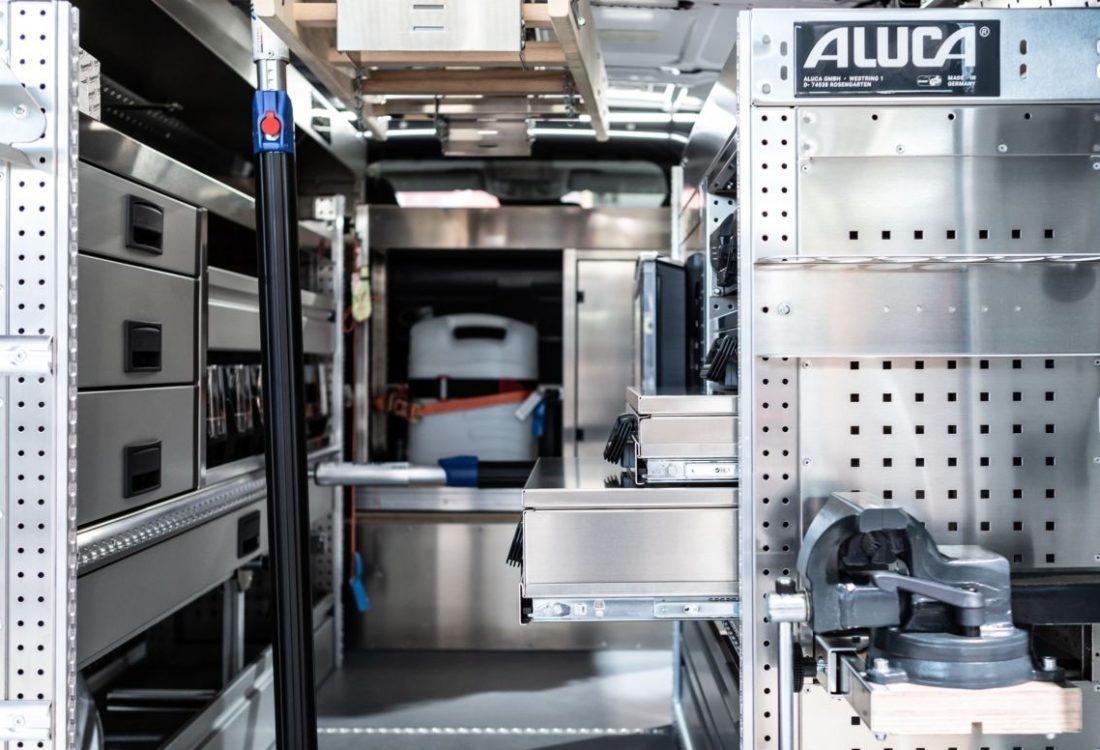 System ALUCA_Koffer Schubladen BOXXen_MB Vito