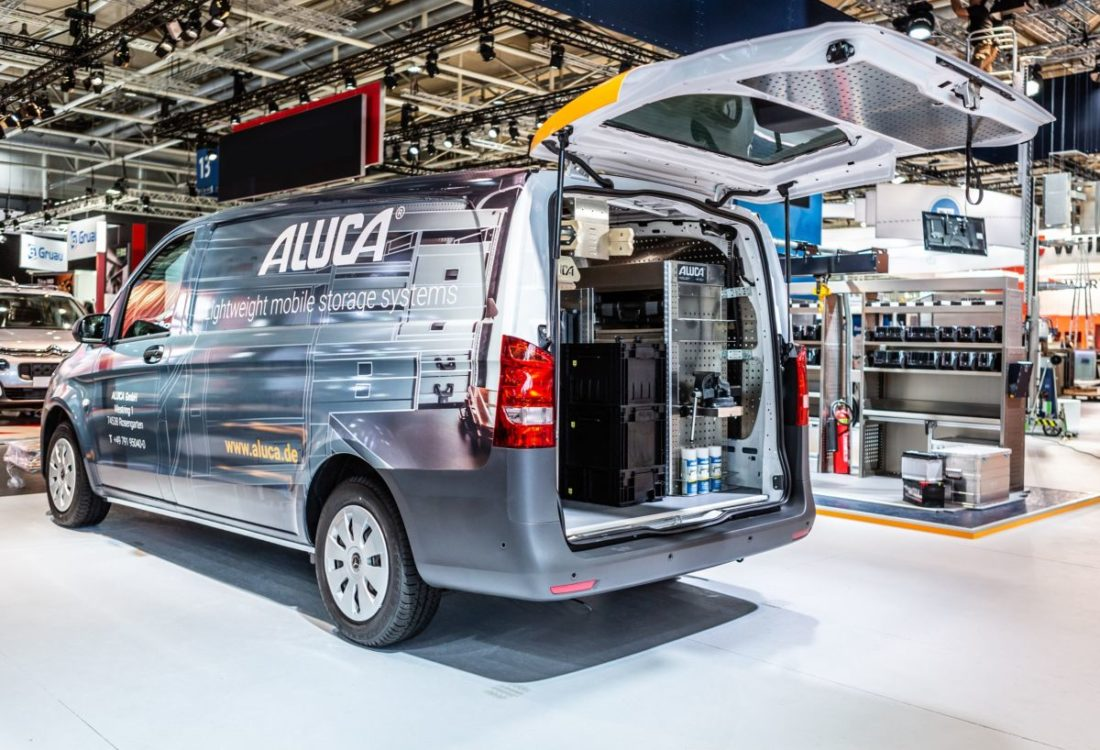 System ALUCA_Lightweight mobile storage systems_MB Vito