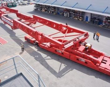 Wie man 600 Tonnen bewegt