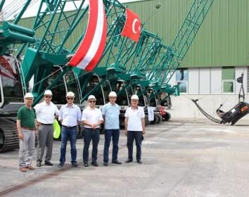 Seilbagger-Großauftrag in der Türkei