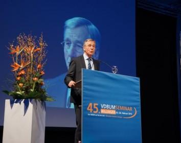 Das 45. VDBUM-Seminar führte die Entscheider der Branche zusammen