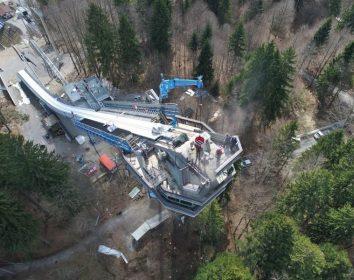 Abbruch und Modernisierung der Heini-Klopfer-Skiflugschanze
