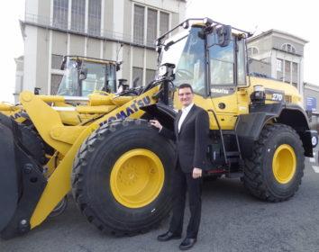 """Bereit für die Zukunft – Komatsu mit """"Smart Construction"""" auf dem Vormarsch"""
