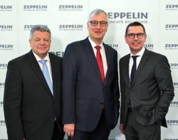Zeppelin-Konzern präsentiert Rekordzahlen