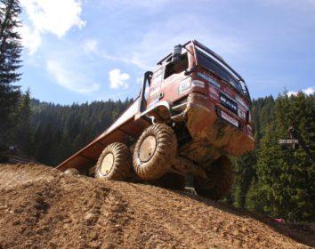 1. Platz beim Finallauf in Châtel – Ein versöhnliches Ende der Truck Trial Saison 2018