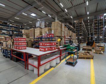 Bobcat eröffnet neues Logistikzentrum in Deutschland