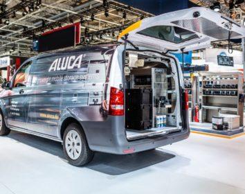Aluca auf der eltec : Fahrzeugeinrichtungen zum Look & Feel !