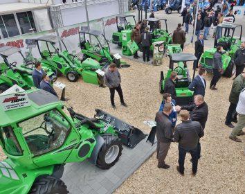 Avant auf der Demopark 2019 – 8 Modelle, 40 Varianten, über 200 Anbaugeräte