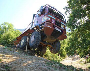 Truck Trial – Zweiter Platz im zweiten Lauf