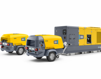 Atlas Copco – Mobile elektrische Variable Speed Drive-Kompressoren für harte Einsatzbedingungen