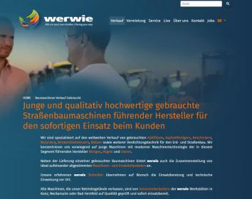 Werwie – Aufwändiger Website-Relaunch