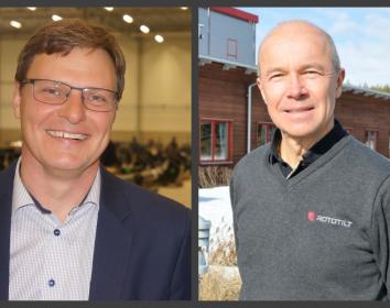 Rototilt und Steelwrist schließen Allianz