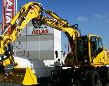 Atlas – so sicher ist nur der neue 1604ZWblue Zweiwegebagger
