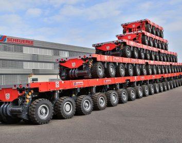 Scheuerle Fahrzeugfabrik – Unternehmen zum zweiten Mal in Folge zum Innovationsführer gekürt