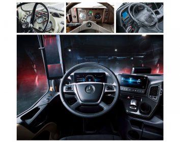 Daimler Trucks & Buses – Wie sich der Lkw-Fahrerarbeitsplatz in den letzten 60 Jahren verändert hat