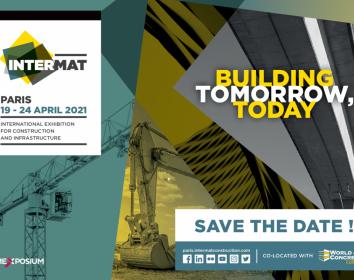 INTERMAT 2021 mit den neuesten Techniktrends im Baugewerbe