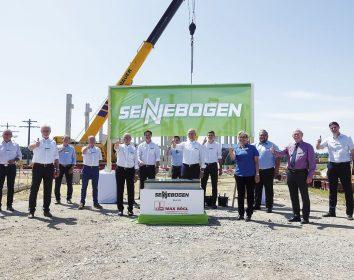 Sennebogen – Investition über 25 Millionen Euro