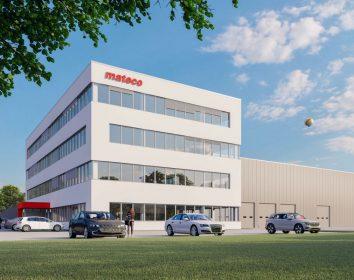 Mateco – Neubau der Firmenzentrale und Niederlassung