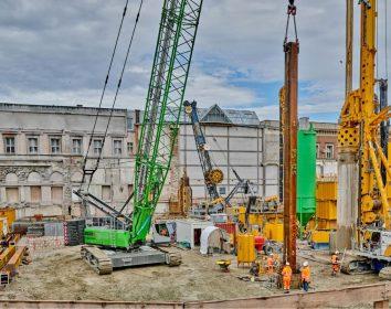 Sennebogen – Krane unterstützen Großprojekt in München