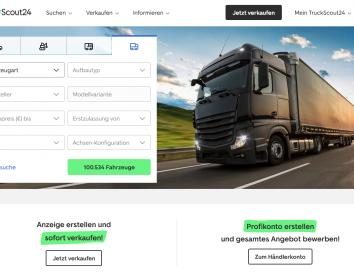 TruckScout24 – Umfassendes Redesign