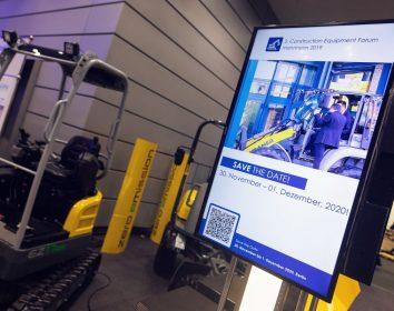 Construction Equipment Forum – Alle Akteure der gesamten Wertschöpfungskette Bau an einem Ort