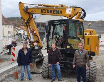 Dietzel & Sohn setzt frühzeitig in der Region auf Hydrema