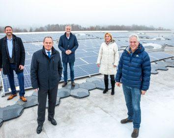 Bohnenkamp – Neue Photovoltaikanlage in Betrieb genommen