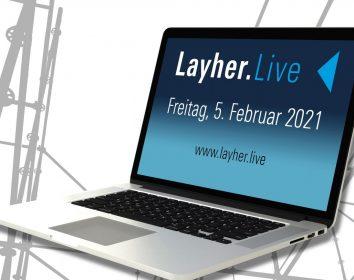 Layher.Live – Interaktive Branchenplattform im Gerüstbau