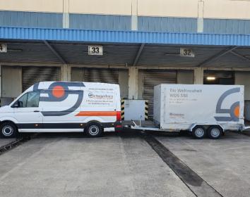 Schwamborn – Profi-Schleifmaschine WDS 530 und Roboter Brokk 200 auf Demo-Tour