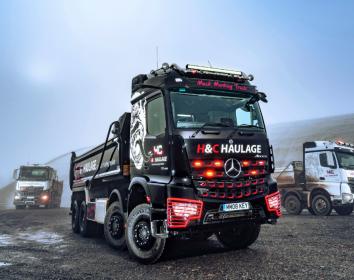 Daimler Trucks – Neues Schmuckstück für H & C Haulage