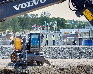 Volvo CE sagt Teilnahme an der bauma 2022 ab