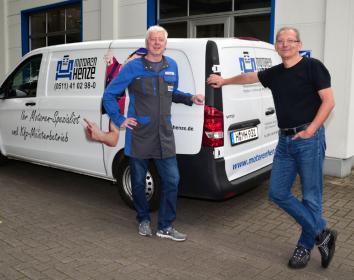 Motoren Henze – Fix vor Ort: mobiler Motorenservice