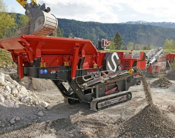 SBM Mineral Processing – Paukenschlag in der 40-Tonnen-Klasse