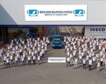 Iveco – 600.000 Eurocargo Lkw im Werk Brescia gebaut