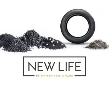 Initiative NEW LIFE empfiehlt: Reifen-Rezyklate als Baustoff