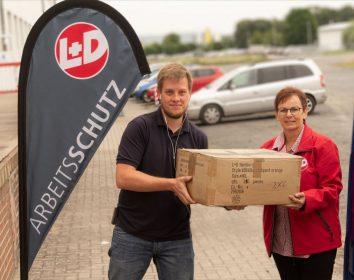 Leipold + Döhle – Arbeitsschutzspezialist unterstützt Helfer in Hochwassergebieten