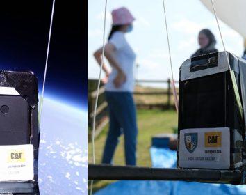 Bullit Group – Die robusten Cat Smartphones reisen erfolgreich in die Stratosphäre