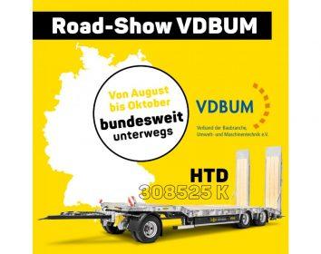 Humbaur HTD 308525 K – jetzt besichtigen auf der VDBUM Road-Show