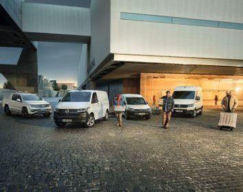 """VW Nutzfahrzeuge – Caddy Cargo und Transporter 6.1 sind """"Best Vans 2021"""""""