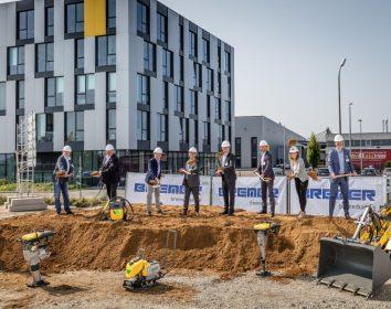 Wacker Neuson – Spatenstich für den Neubau eines Logistikzentrums in Reichertshofen