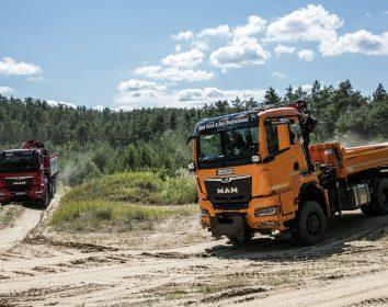 MAN Truck & Bus – Ab ins Gelände mit der neuen Truck-Generation